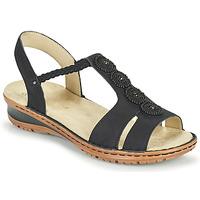 Sapatos Mulher Sandálias Ara HAWAII Preto