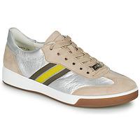 Sapatos Mulher Sapatilhas Ara ROM-HIGHSOFT Prata / Bege / Amarelo
