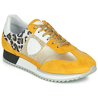 Sapatos Mulher Sapatilhas Philippe Morvan ROCKY2 Amarelo / Ouro