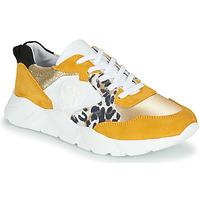 Sapatos Mulher Sapatilhas Philippe Morvan VIRGIL Amarelo / Branco