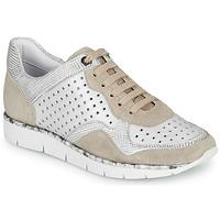Sapatos Mulher Sapatilhas Regard JARD V4 CROSTA P STONE Branco / Bege