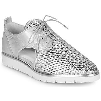 Sapatos Mulher Sapatos Regard LUCEY V2 TRESSE SILVER Prata