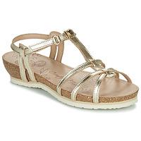 Sapatos Mulher Sandálias Panama Jack DORI Ouro