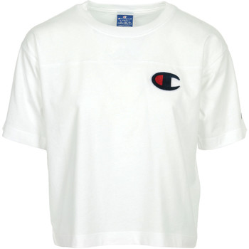 Textil Mulher T-Shirt mangas curtas Champion Crewneck T-Shirt Branco