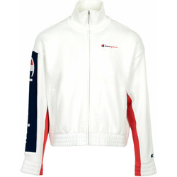 Textil Mulher Casacos fato de treino Champion Full Zip Sweatshirt Wn's Branco