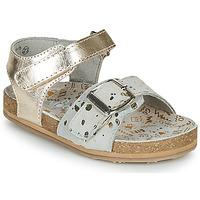 Sapatos Rapariga Sandálias Mod'8 KORALY Ouro