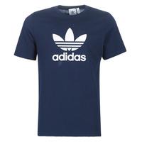 Textil Homem T-Shirt mangas curtas adidas Originals  Marinho