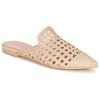 Sapatos Mulher Chinelos Pretty Ballerinas COTON ROSATO Bege