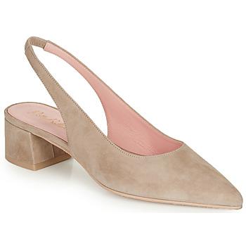 Sapatos Mulher Escarpim Pretty Ballerinas ANGELIS SAFARI Bege