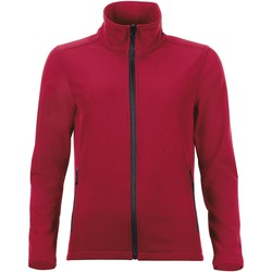 Textil Mulher Casacos fato de treino Sols RACE WOMEN SOFTSHELL Rojo