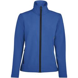 Textil Mulher Casacos fato de treino Sols RACE WOMEN SOFTSHELL Azul