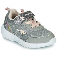 Sapatos Rapariga Sapatilhas Kangaroos KY-Citylite EV Cinza / Rosa