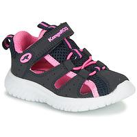 Sapatos Rapariga Sandálias Kangaroos KI-ROCK LITE EV Azul / Rosa