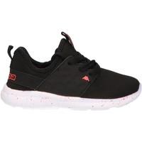 Sapatos Criança Multi-desportos Kappa 304IHJ0 SAN ANTONIO 915 BLACK Negro