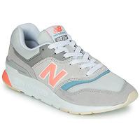 Sapatos Mulher Sapatilhas New Balance 997 Cinza / Azul / Rosa