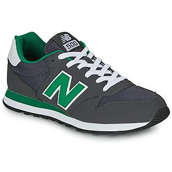 Sapatos Homem Sapatilhas New Balance 500 Cinza / Verde
