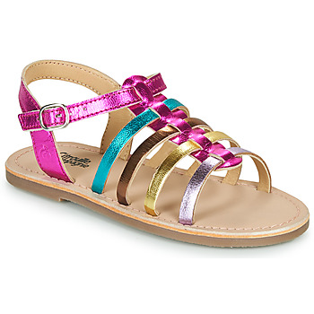 Sapatos Rapariga Sandálias Citrouille et Compagnie MAYANA Multicolor