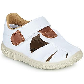 Sapatos Rapaz Sandálias Citrouille et Compagnie GUNCAL Branco