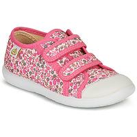 Sapatos Rapariga Sapatilhas Citrouille et Compagnie GLASSIA Rosa / Multicolor