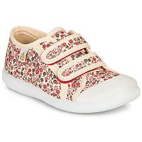 Sapatos Rapariga Sapatilhas Citrouille et Compagnie GLASSIA Cru / Multicolor