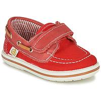 Sapatos Rapaz Sapato de vela Citrouille et Compagnie GASCATO Vermelho
