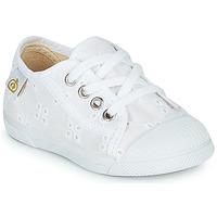 Sapatos Rapariga Sapatilhas Citrouille et Compagnie MALIKA Branco