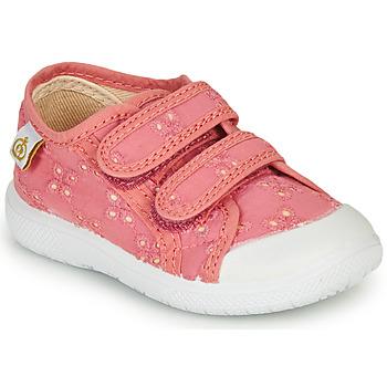 Sapatos Rapariga Sapatilhas Citrouille et Compagnie MELVINA Rosa