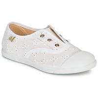 Sapatos Criança Sapatilhas Citrouille et Compagnie RIVIALELLE Branco