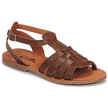 Sapatos Rapariga Sandálias Citrouille et Compagnie MINIBOU Castanho