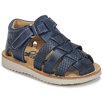 Sapatos Rapaz Sandálias Citrouille et Compagnie MISTIGRI Marinho