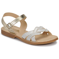 Sapatos Rapariga Sandálias Citrouille et Compagnie MADELLE Prata