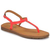 Sapatos Rapariga Chinelos Citrouille et Compagnie MIZZA Rosa / Fluo