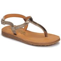 Sapatos Rapariga Chinelos Citrouille et Compagnie MIZZA Ouro