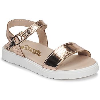Sapatos Rapariga Sandálias Citrouille et Compagnie GAPOTI Bronze