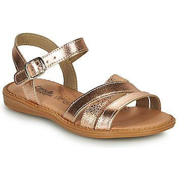 Sapatos Rapariga Sandálias Citrouille et Compagnie IZOEGL Bronze