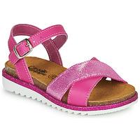 Sapatos Rapariga Sandálias Citrouille et Compagnie GAUFRETTE Rosa