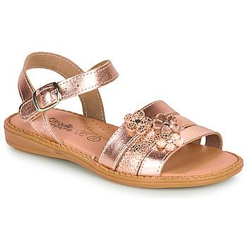 Sapatos Rapariga Sandálias Citrouille et Compagnie KATAGUE Bronze