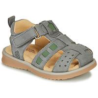 Sapatos Rapaz Sandálias Citrouille et Compagnie MERKO Cáqui