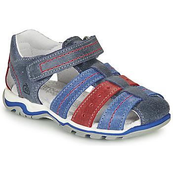 Sapatos Rapaz Sandálias Citrouille et Compagnie MARIDO Azul