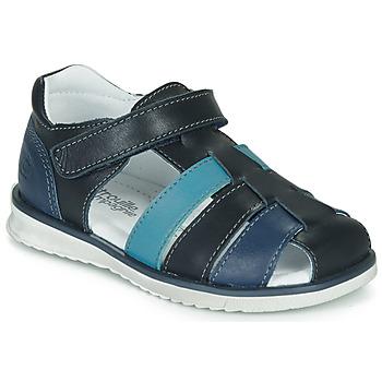 Sapatos Rapaz Sandálias Citrouille et Compagnie FRINOUI Azul