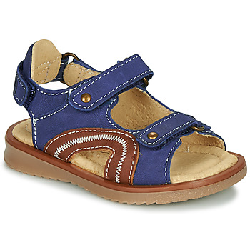 Sapatos Rapaz Sandálias Citrouille et Compagnie MASTIKO Azul