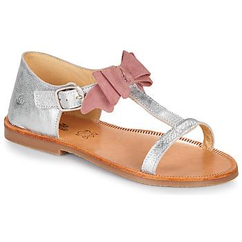 Sapatos Rapariga Sandálias Citrouille et Compagnie MELINDA Prata