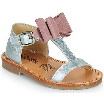 Sapatos Rapariga Sandálias Citrouille et Compagnie MELINDA Rosa / Ouro