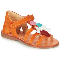 Sapatos Rapariga Sandálias Citrouille et Compagnie MIETTE Laranja