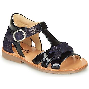 Sapatos Rapariga Sandálias Citrouille et Compagnie MOLINETTE Marinho