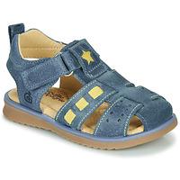 Sapatos Rapaz Sandálias Citrouille et Compagnie MARINO Marinho