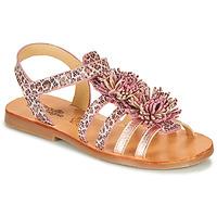 Sapatos Rapariga Sandálias Citrouille et Compagnie MARINAS Rosa