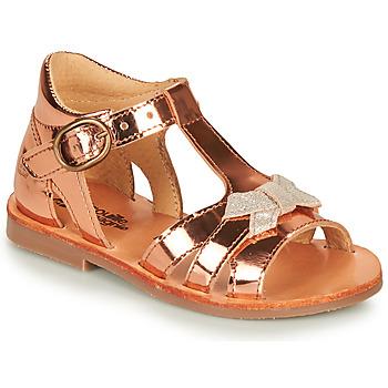 Sapatos Rapariga Sandálias Citrouille et Compagnie MINIMOME Bronze
