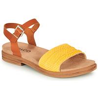 Sapatos Mulher Sandálias IgI&CO 5170711 Conhaque / Amarelo