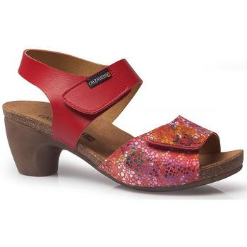 Sapatos Mulher Sandálias Calzamedi SANDÁLIAS  VERÃO 2020 VERMELHO